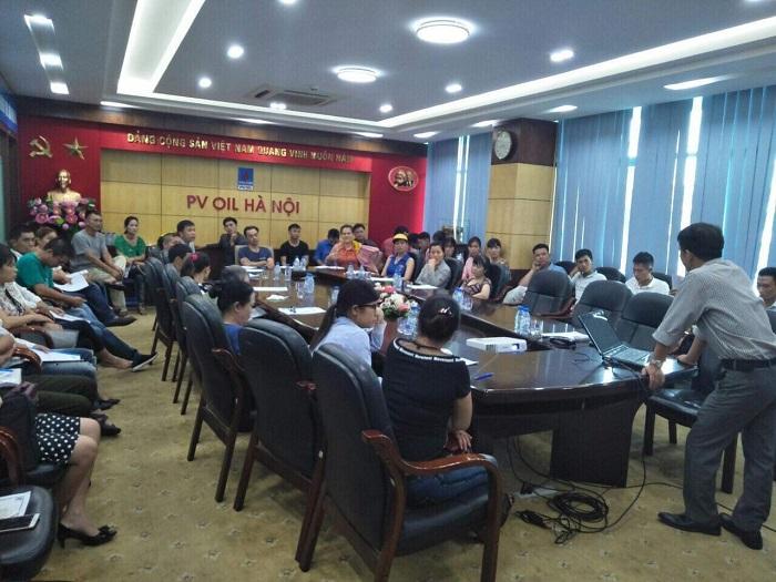 Đào tạo An toàn lao động tại PV OIL Hà Nội
