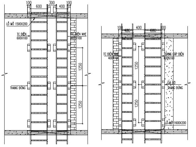 Công suất của hệ thống cấp nước và lưu lượng tính toán