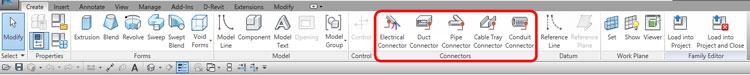 Giao diện vị trí lệnh các connector
