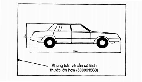 Cách định giới hạn bản vẽ trong AutoCad