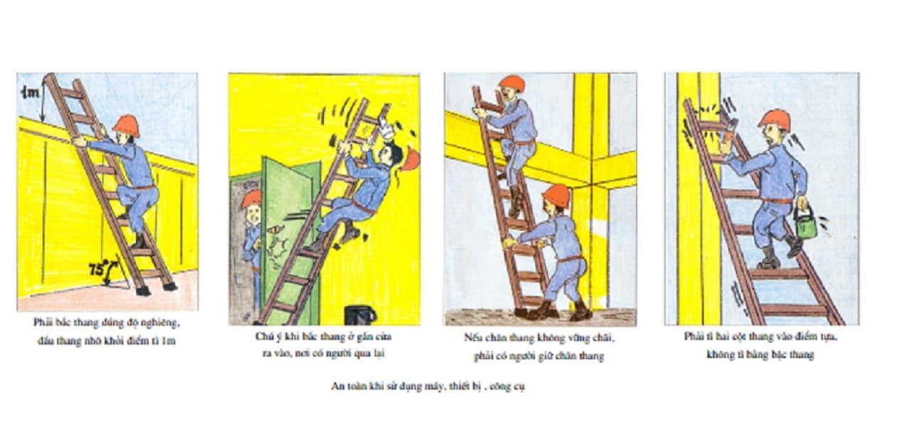 Các biện pháp an toàn lao động