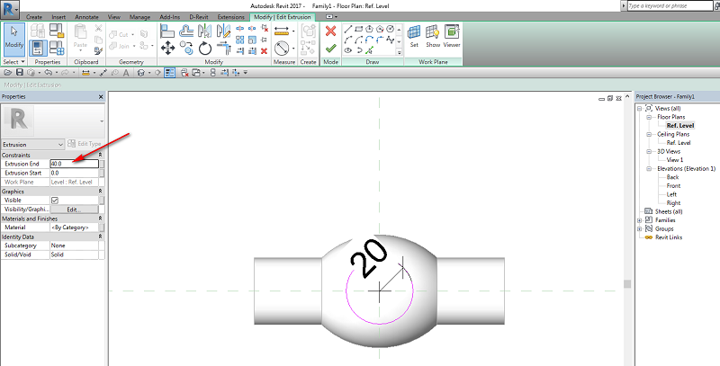 Extrusion End