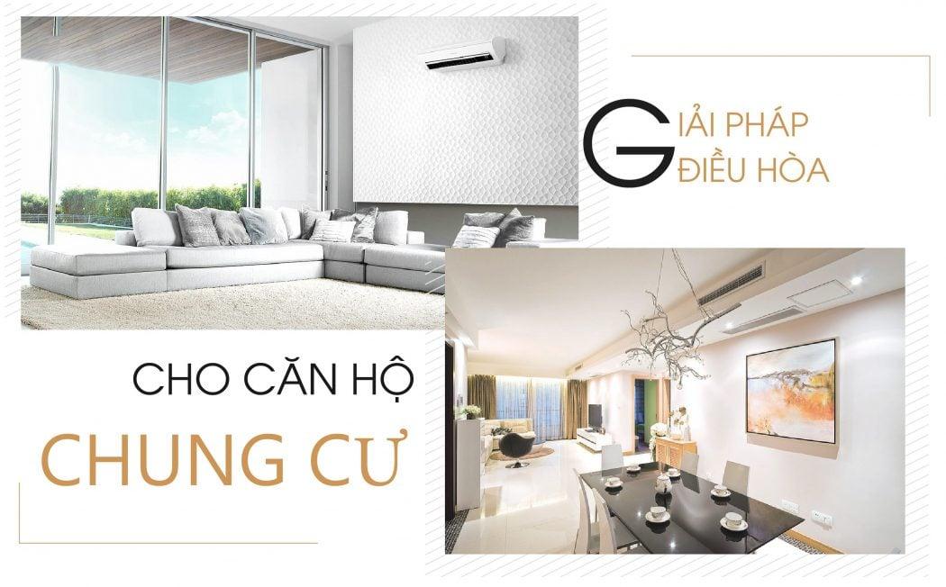 Giải pháp điều hòa không khí cho căn hộ chung cư