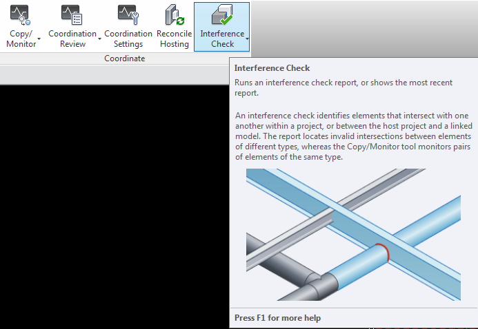 Interference Check Revit MEP