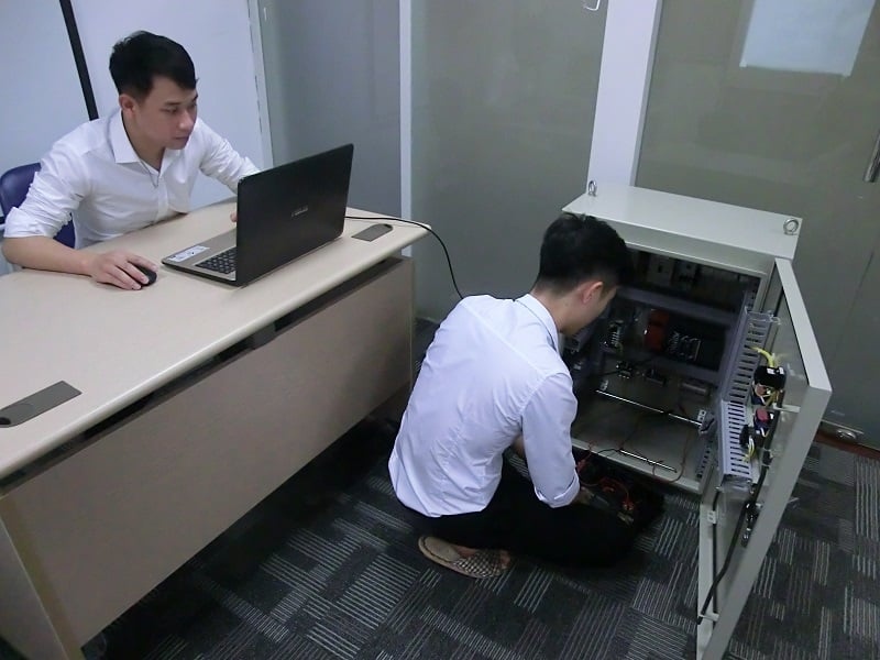 Hình ảnh khóa học lập trình plc mitsubishi 3