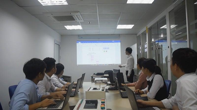 Hình ảnh khóa học lập trình plc mitsubishi 1