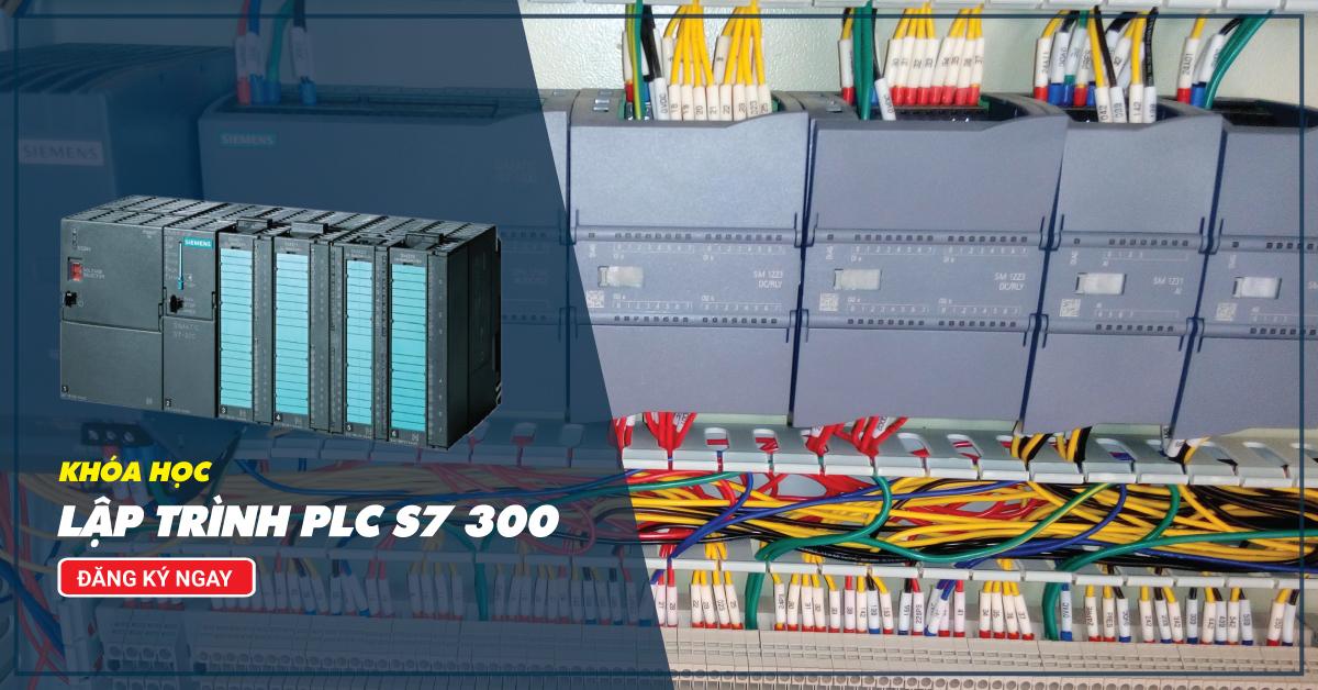 Khóa học lập trình plc S7 300