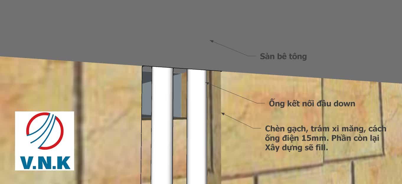 Quy Cách Và 1 Số Sai Sót Cần Chú Ý Khi Thi Công Cắt Đục Tường