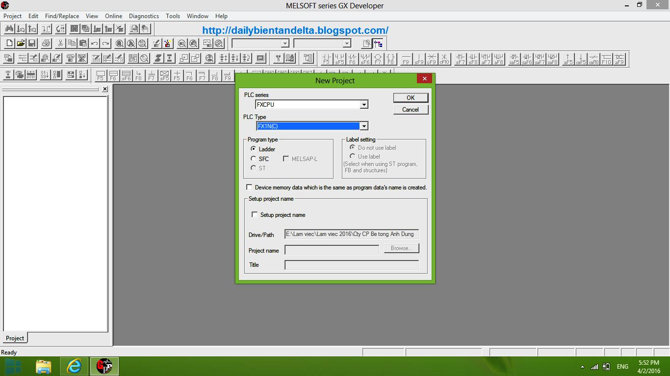 tạo file PLC