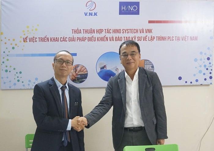 [Lễ ký kết] Thỏa thuận hợp tác Hino Systech và VNK