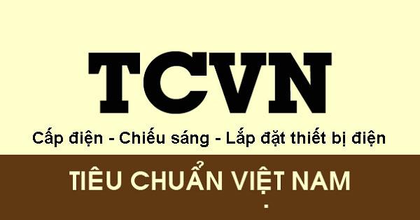 Tiêu-chuẩn-Việt-Nam-về-Cấp-điện-Chiếu-sáng-Lắp-đặt-thiết-bị-điện