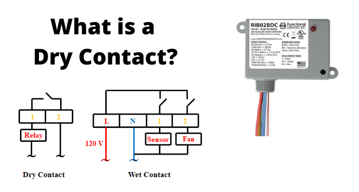Dry contacts : What is it ? Dry contact vs wet contact