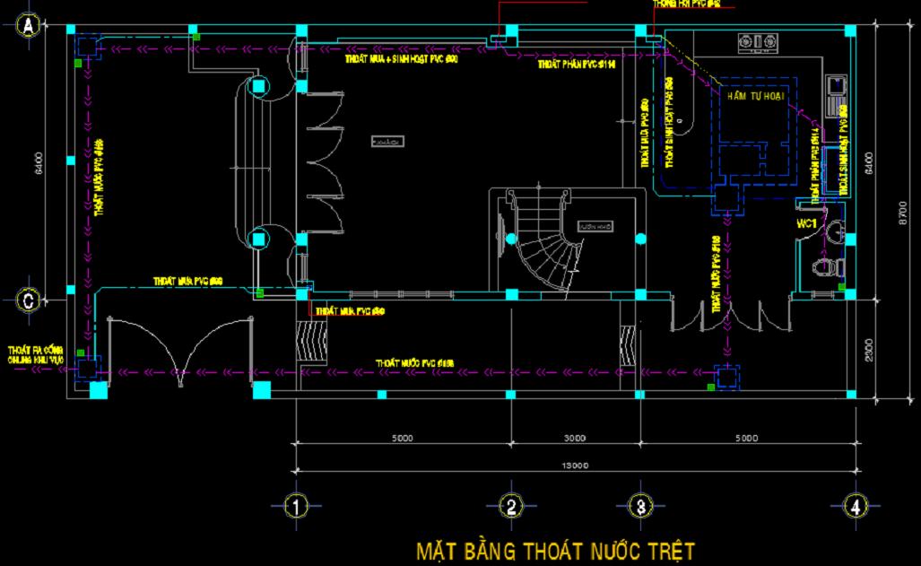 Tổng hợp một số bản vẽ Autocad mẫu