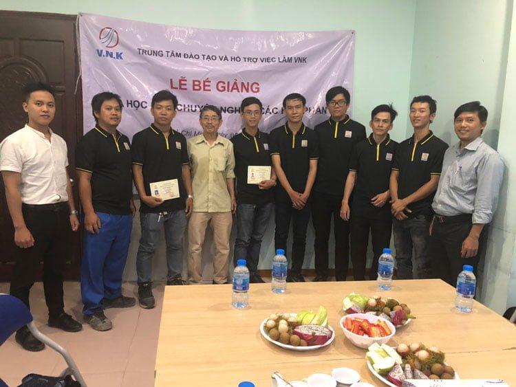 Lễ bế giảng khóa học M&E chuyên nghiệp các học phần lần thứ tư tại Hồ Chí Minh