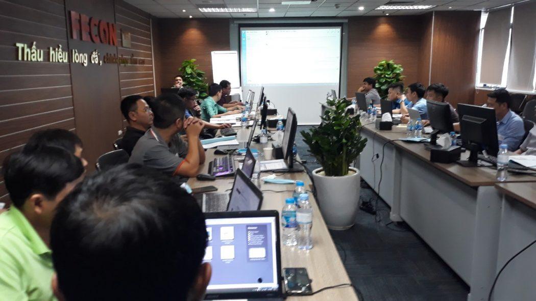 Đào tạo Revit Structure tại Công ty Cổ phần FECON