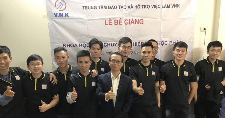 Lễ bế giảng khóa học M&E chuyên nghiệp các học phần lần thứ tư tại Hà Nội