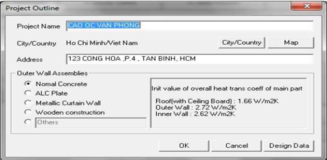 phần mềm tính tải nhiệt Headload Daikin.